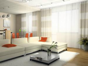 Стая с красиви пердета